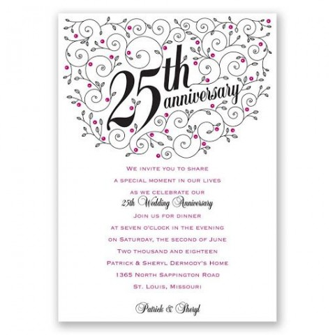 009 Fantastic 50th Anniversary Invitation Wording Sample Highest Clarity  Wedding 60th In Tamil Birthday480