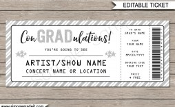 009 Fantastic Concert Ticket Template Free Printable Idea  Gift