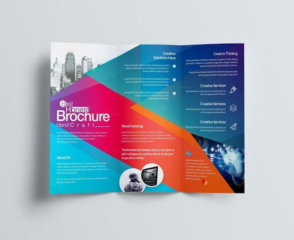 009 Fantastic Download Brochure Template For Word 2007 Sample Large