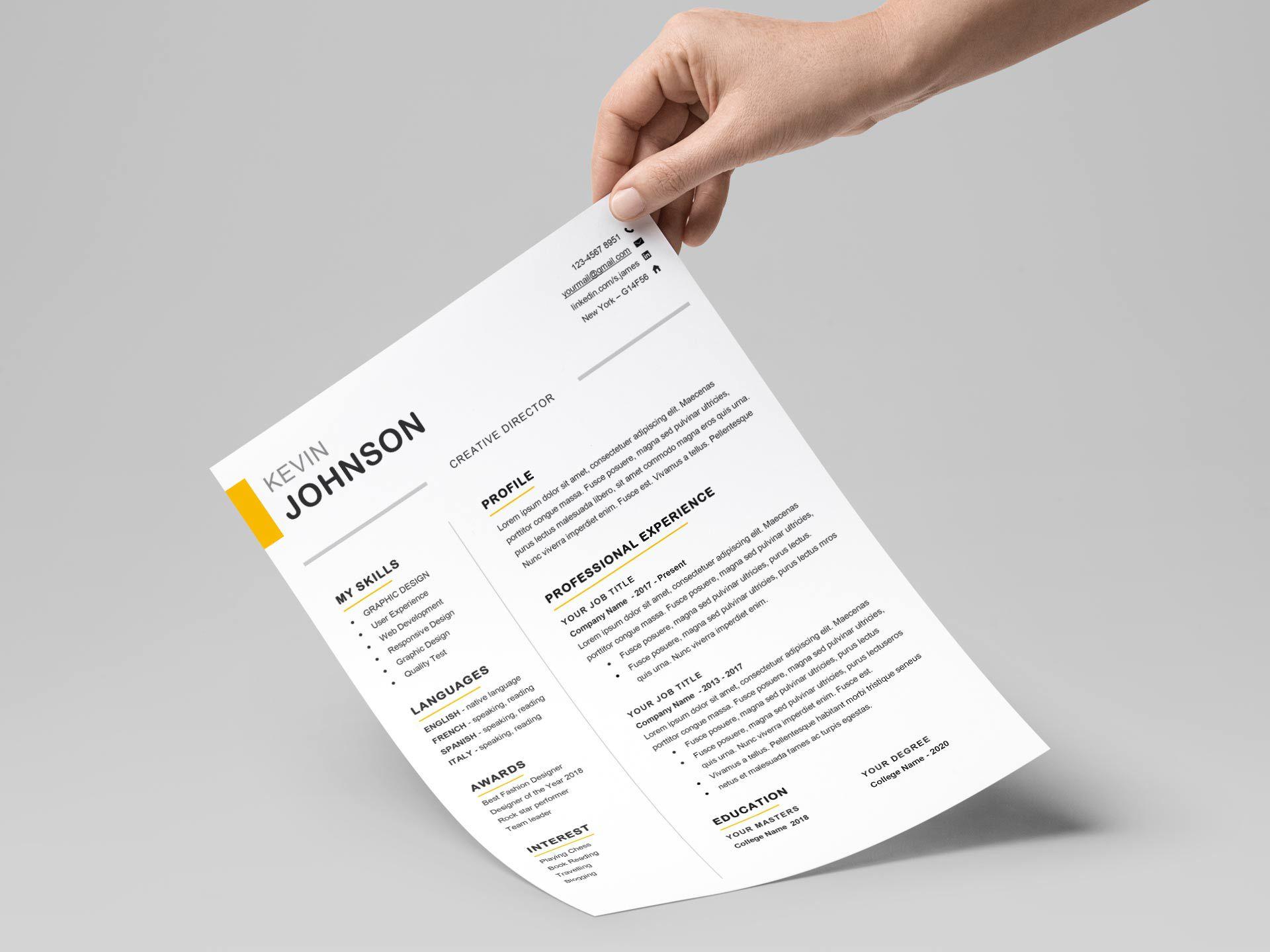 009 Fantastic Download Elegant Resume Template Microsoft Word Idea Full