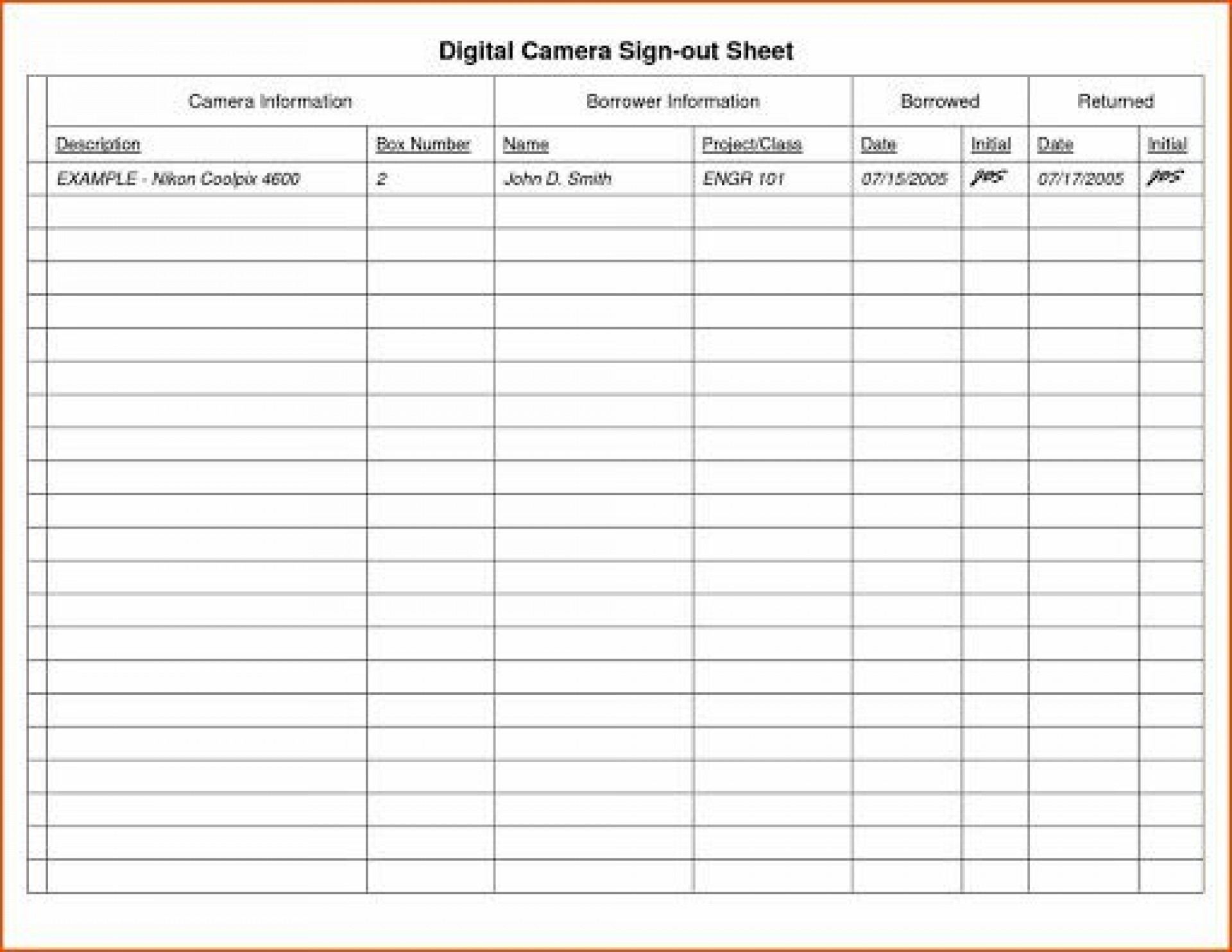 009 Fantastic Equipment Sign Out Sheet Template High Def  Pdf Free Printable1920