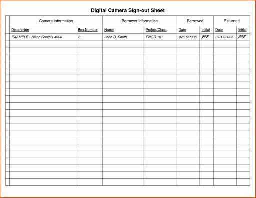 009 Fantastic Equipment Sign Out Sheet Template High Def  Pdf Free PrintableFull