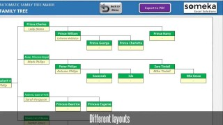 009 Fantastic Excel Family Tree Template Design  10 Generation Download Free Editable320