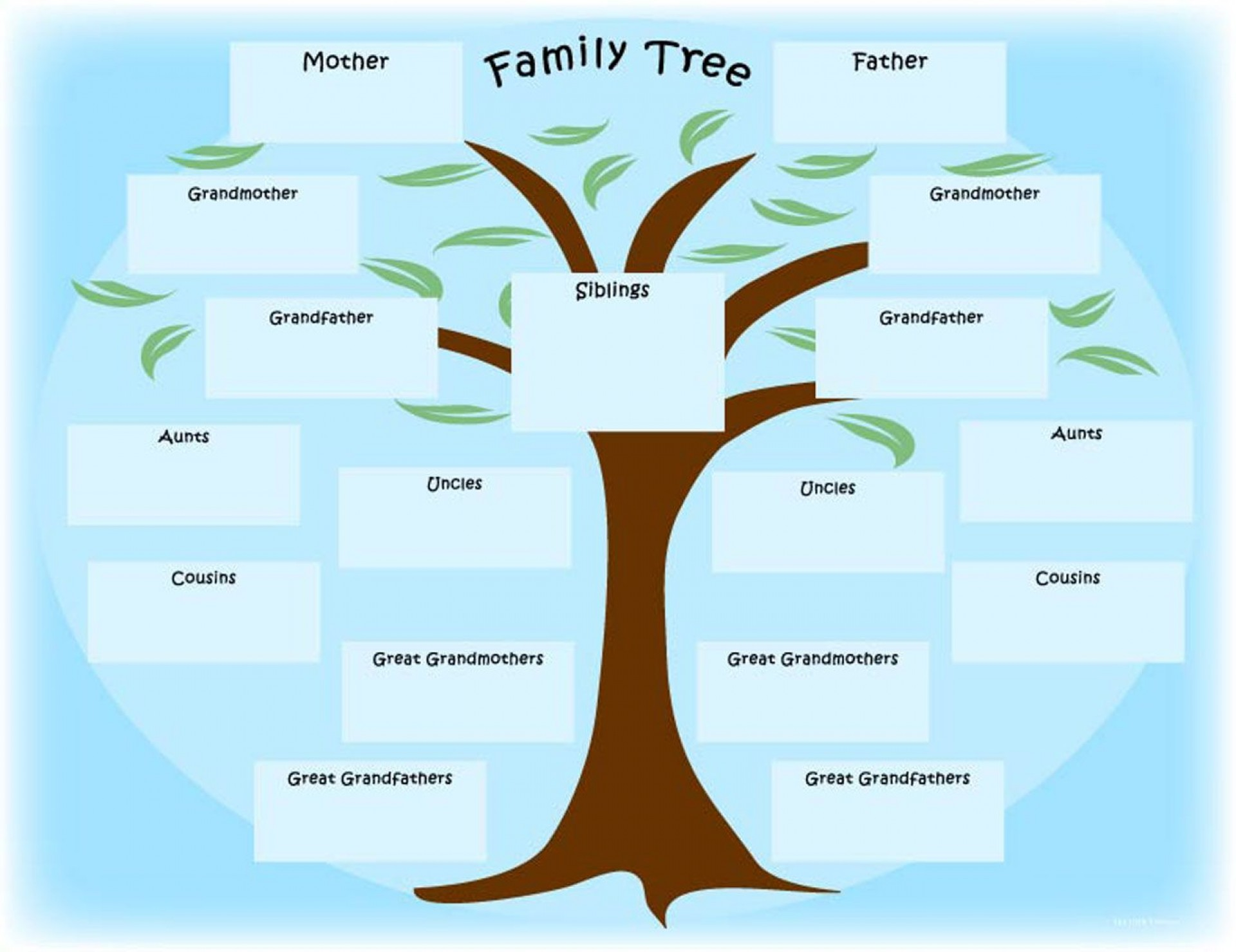 009 Fantastic Family Tree Template Online Example  Free Maker Excel1920