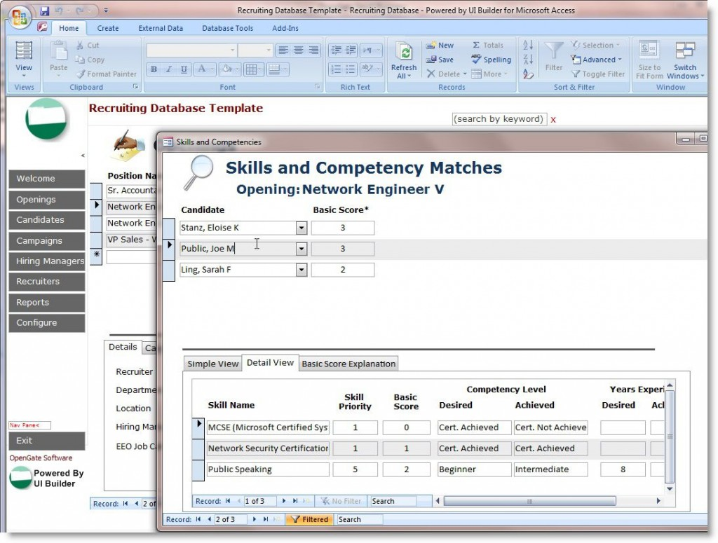 009 Fantastic Free Acces Database Template High Definition  Templates For Small Busines Hr Microsoft InventoryLarge