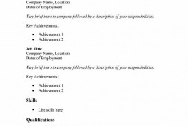 009 Fantastic Free Basic Resume Template Concept  Sample Download For Fresher Microsoft Word 2007