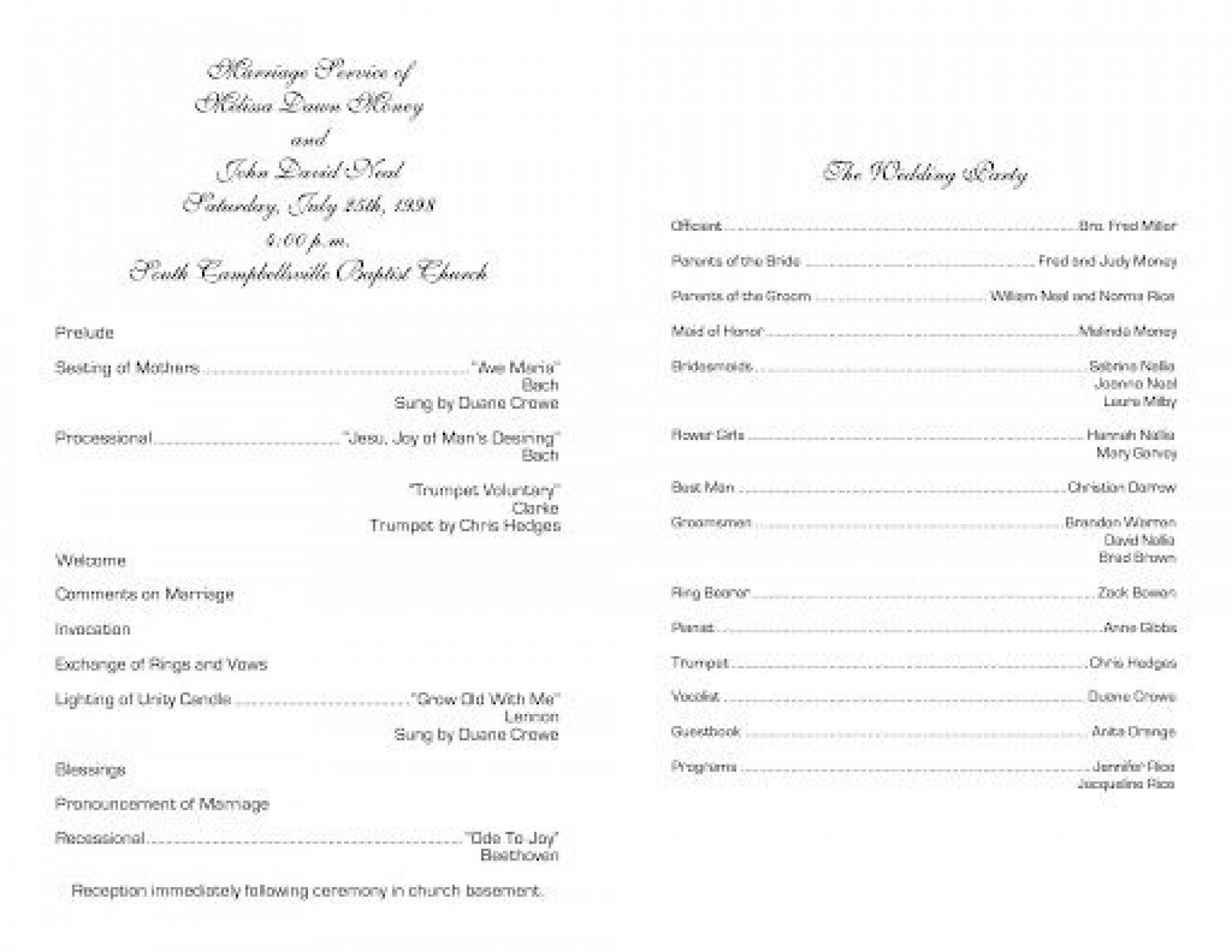 009 Fantastic Free Church Program Template Photo  Printable Anniversary Doc1920