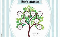 009 Fantastic Free Editable Family Tree Template With Sibling Photo  Siblings