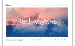 009 Fantastic Free Photography Website Template Sample  Templates Responsive Bootstrap