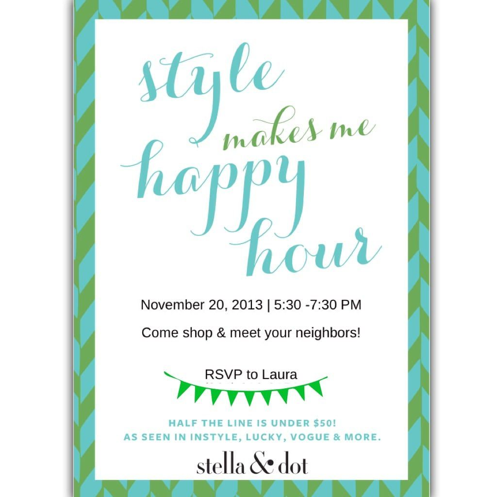 009 Fantastic Happy Hour Invitation Template Concept  Templates Free Word FarewellFull