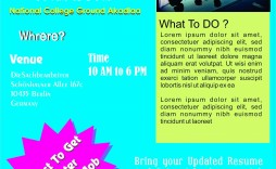 009 Fantastic Health Fair Flyer Template Free Image  Download