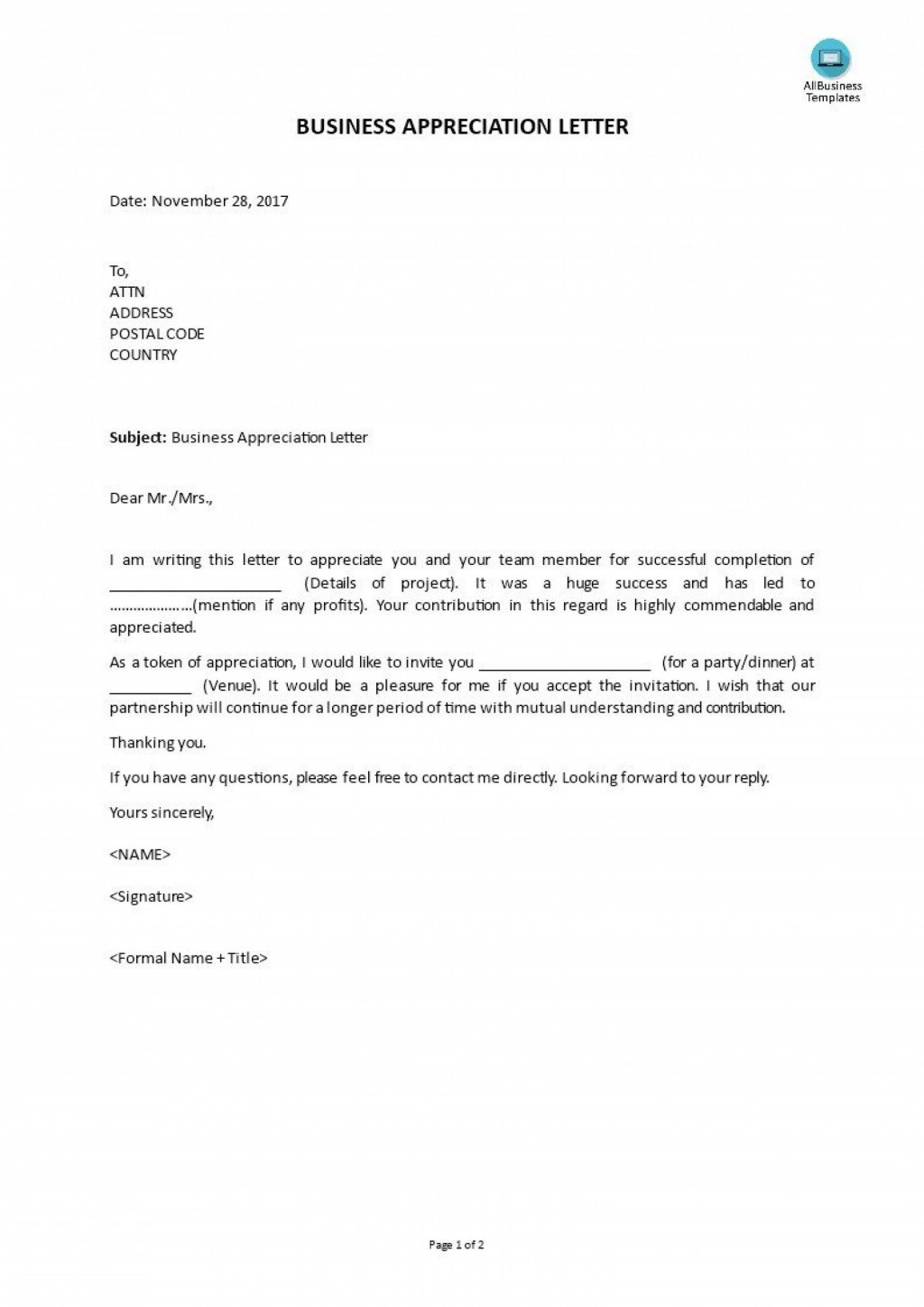 009 Fantastic Letter Of Mutual Understanding Template Inspiration Large