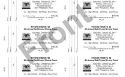 009 Fantastic Microsoft Word Ticket Template Concept  Raffle 8 Per Page Movie Numbered