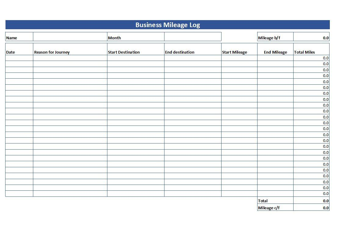 009 Fantastic Mileage Tracking Excel Template Highest Clarity Full