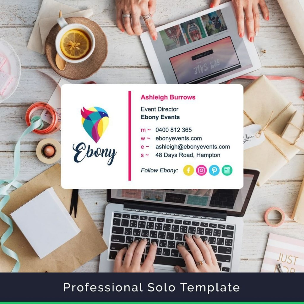 009 Fantastic Outlook Email Signature Template Example Sample  ExamplesLarge