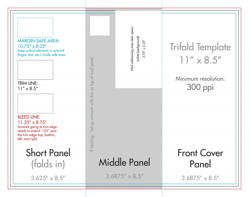 009 Fantastic Template For Trifold Brochure Sample  Tri Fold Indesign A4 Free In Word DownloadLarge