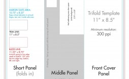 009 Fantastic Template For Trifold Brochure Sample  Tri Fold Indesign A4 Free In Word Download