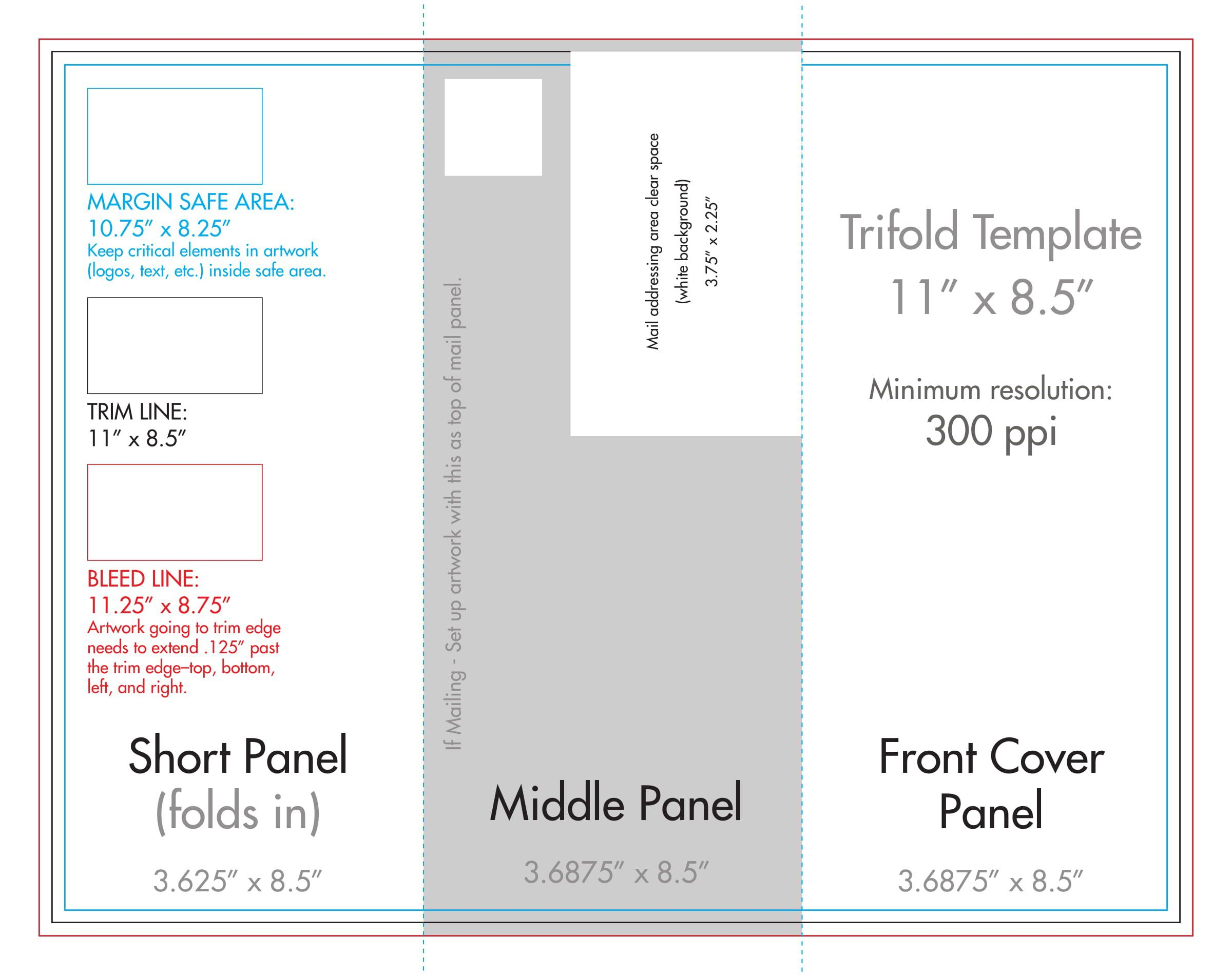 009 Fantastic Template For Trifold Brochure Sample  Tri Fold Indesign A4 Free In Word DownloadFull