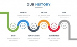 009 Fantastic Timeline Template Pptx Highest Clarity  Powerpoint Project