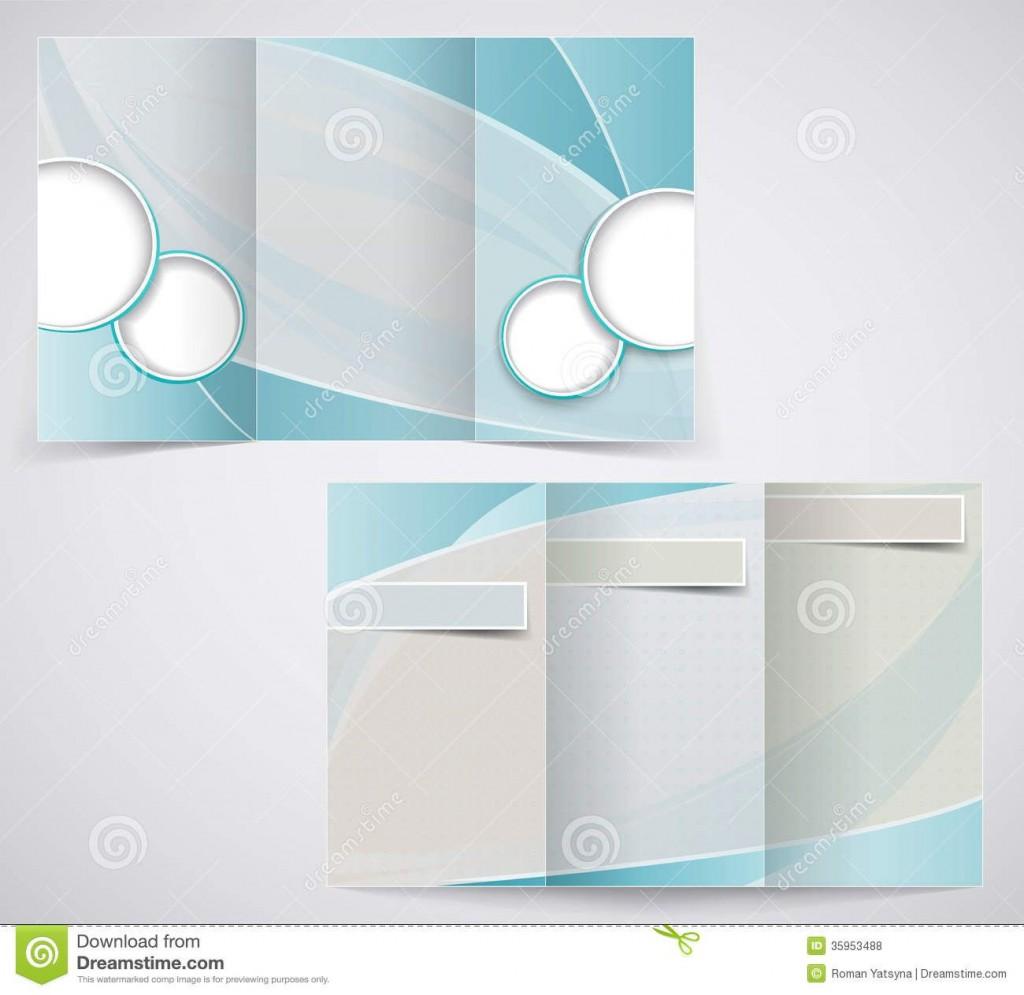 009 Fantastic Tri Fold Brochure Template Word High Resolution  2010 2007 FreeLarge