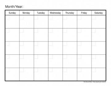 009 Fascinating Blank Calendar Template Word Inspiration  Microsoft 2019 Bi Monthly360