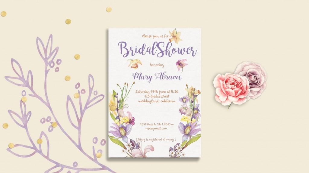 009 Fascinating Bridal Shower Card Template Inspiration  Invitation Free Download BingoLarge