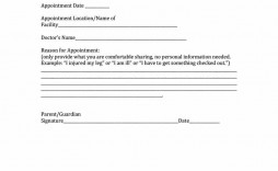 009 Fascinating Doctor Note For School Template Example  Fake