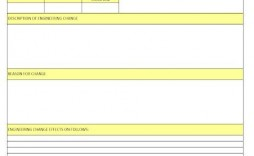 009 Fascinating Engineering Change Order Template Concept