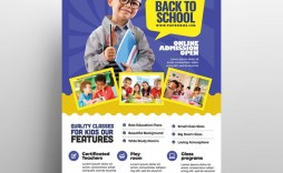 009 Fascinating Free School Flyer Template Psd Picture  Brochure Download Back To