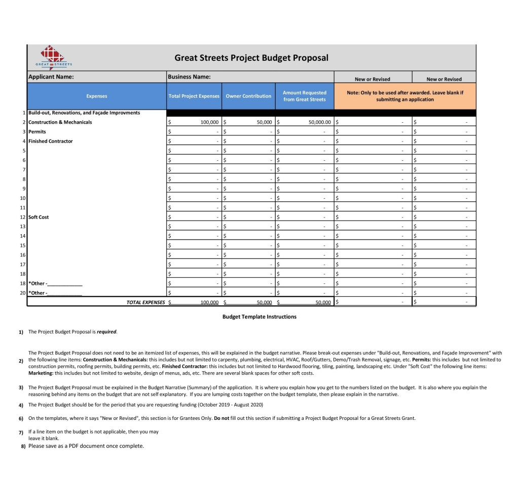 009 Fascinating Line Item Budget Spreadsheet High Definition  Template Word FreeLarge