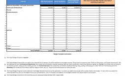 009 Fascinating Line Item Budget Spreadsheet High Definition  Template Word Free