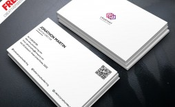 009 Fascinating Minimalist Busines Card Template Psd Picture