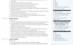 009 Fascinating Software Engineer Resume Template Sample  Word Format Free Download Microsoft