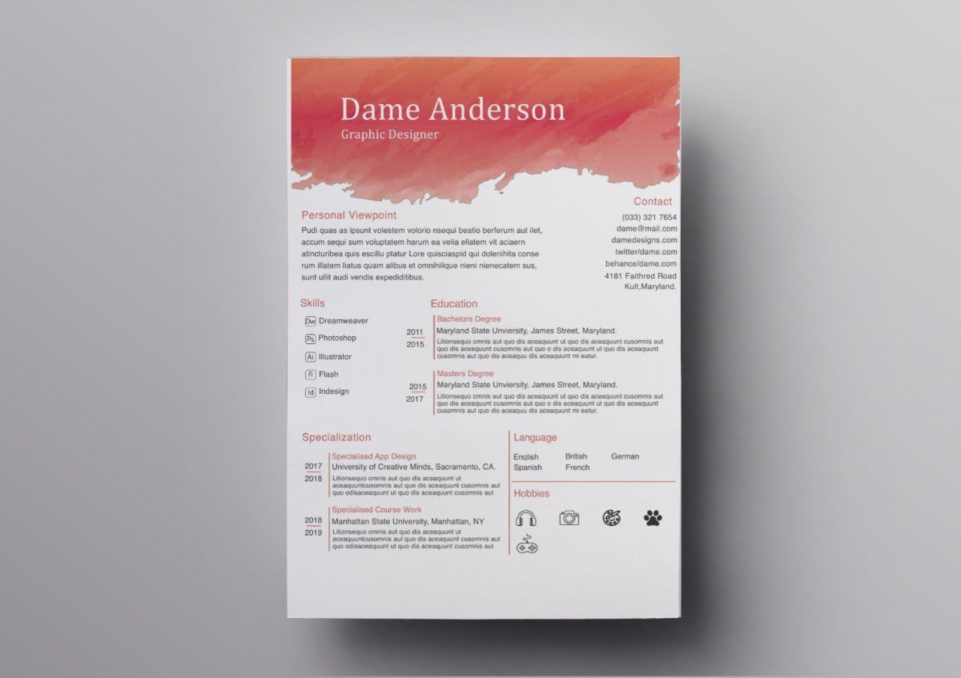 009 Fearsome Download Resume Template Free Mac Highest Quality  For1920
