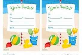 009 Fearsome Microsoft Word Birthday Invitation Template Sample  Editable 50th 60th