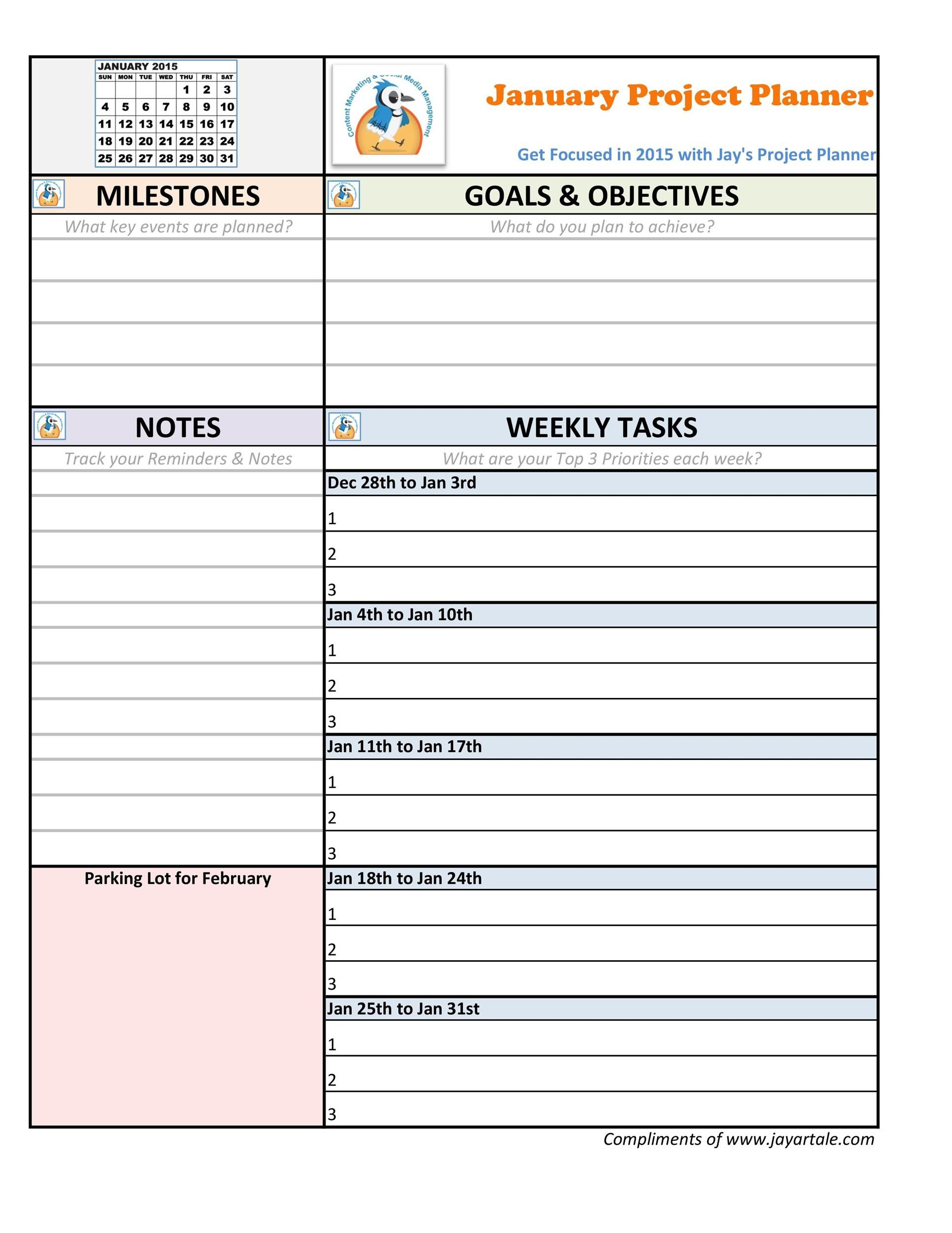 009 Fearsome M Word Project Plan Template Sample  Management MicrosoftFull