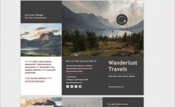009 Fearsome M Word Travel Brochure Template Highest Quality  Microsoft Free
