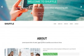 009 Fearsome One Page Website Template Free Download Bootstrap High Def