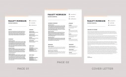 009 Fearsome Professional Resume Template 2019 Free Download High Resolution  Cv