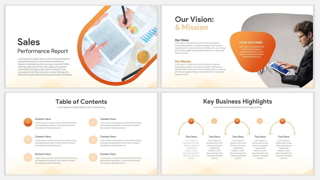 009 Fearsome Project Management Report Template Ppt Design  Weekly StatuFull