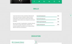 009 Fearsome Resume Website Template Free Picture  Builder Download