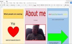 009 Formidable 3 Fold Brochure Template Doc Sample  Docs Google