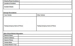 009 Formidable Accident Report Form Template Highest Clarity  Free South Africa Pdf