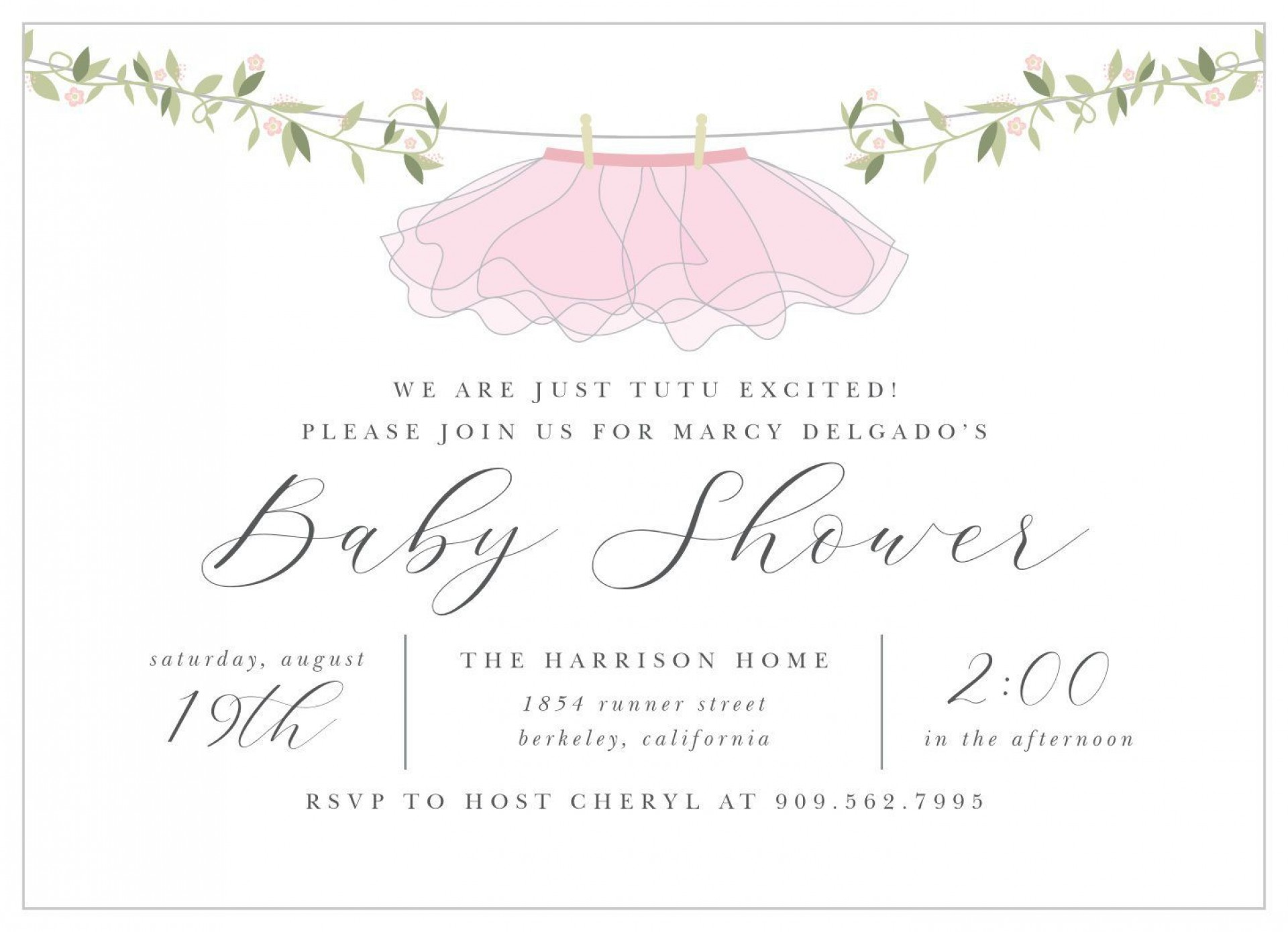 009 Formidable Baby Shower Invitation Wording Example  Examples Invite Coed Idea For Boy1920