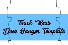 009 Formidable Free Download Door Hanger Template Concept