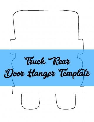 009 Formidable Free Download Door Hanger Template Concept 320