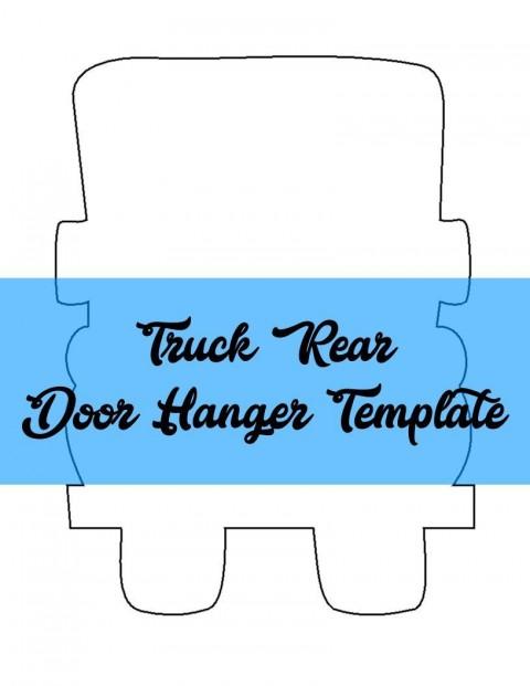 009 Formidable Free Download Door Hanger Template Concept 480