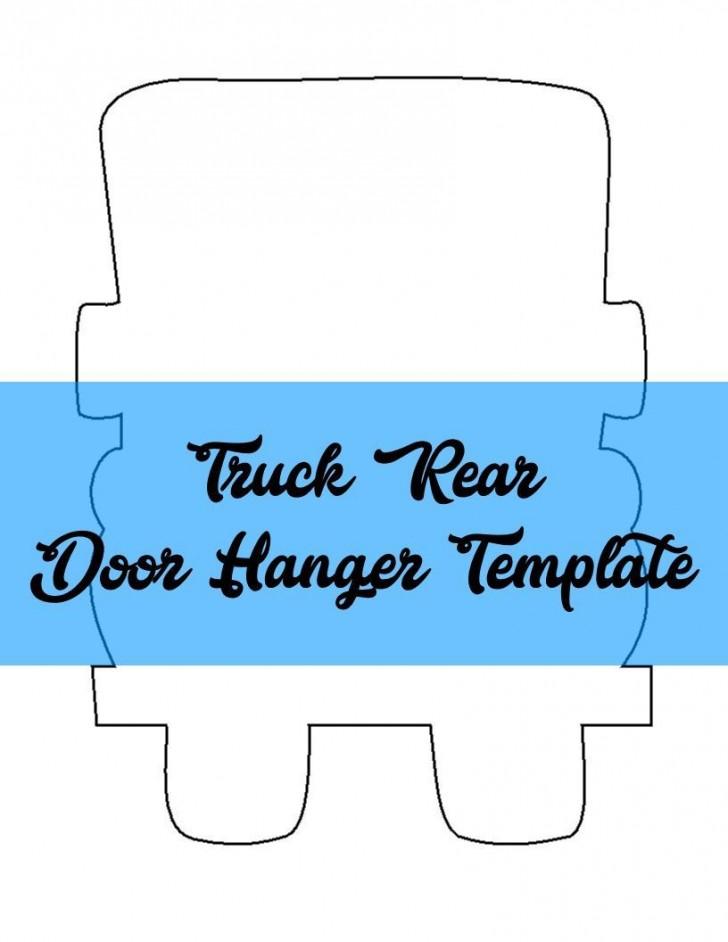 009 Formidable Free Download Door Hanger Template Concept 728
