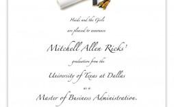 009 Formidable Free Graduation Invitation Template Printable Idea  Party Card High School