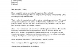 009 Formidable Letter Of Resignation Template Free Inspiration  Pdf Sample